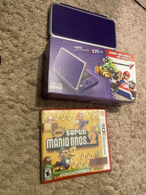 "New"" 2ds xl in great condition with mario kart 7 and mario bros for Sale in Seattle, WA"