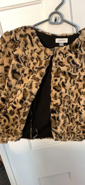 Calvin Klein cheetah print sweater for Sale in Washington, DC