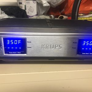 Krups indoor Electric Grill for Sale in Tampa, FL