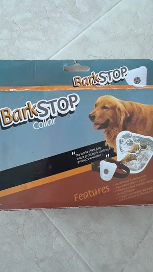 Dog bark stop collar for Sale in Bakersfield, CA