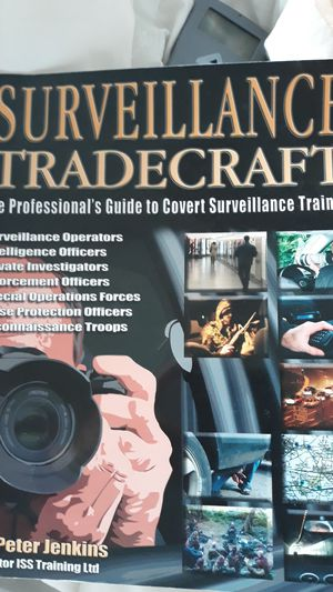 Surveillance tradecraft book Barely Used. for Sale in Green Bay, WI