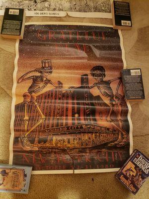 Vtg 1980 grateful dead poster for Sale in Mukilteo, WA