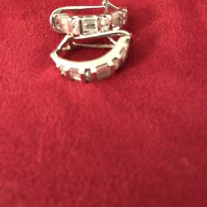 Beautiful Pair Of Diamond Earrings for Sale in Gig Harbor, WA