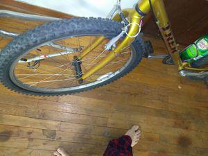 """19"""".5Trek mountain bike late 90s model chrome moly frame for Sale in Houston, TX"""