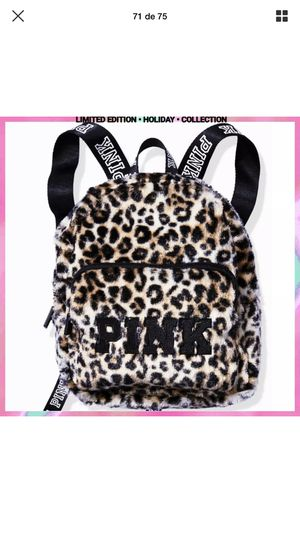 SALE $25.00 WAS $30.00 New Victoria's Secret Pink Leopard Faux Mini Backpack Limited Edition for Sale in Orlando, FL