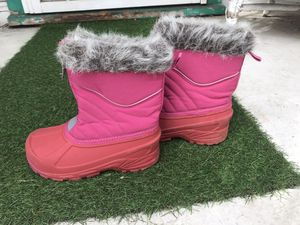 Kids Girl Rain/Snow Boots size 1 (not toddler) for Sale in Chula Vista, CA