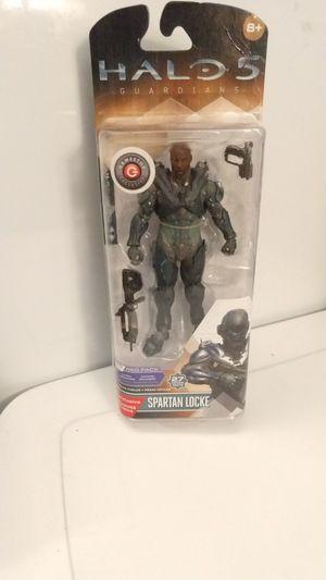 McFarlane Halo 5 Spartan Locke Action Figure - Req Pack for Sale in Biddeford, ME