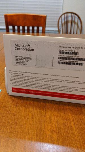 Microsoft Windows Home 10, 64Bit for Sale in Port St. Lucie, FL