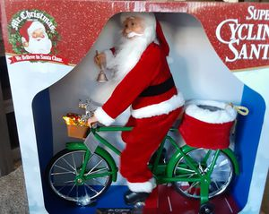 NEW Super cycling Santa for Sale in Meridian, ID