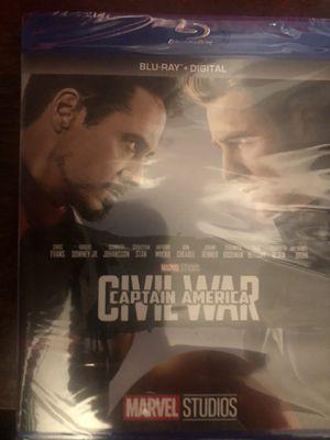 Captain America Civil War for Sale in Bella Vista, AR