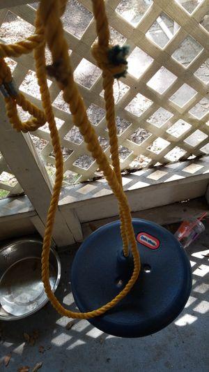 Little tike swing for Sale in Plant City, FL