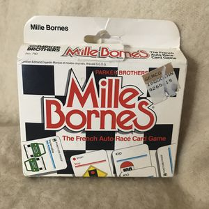 Mille Bornes Card Game 1982 Edition for Sale in Anchorage, AK