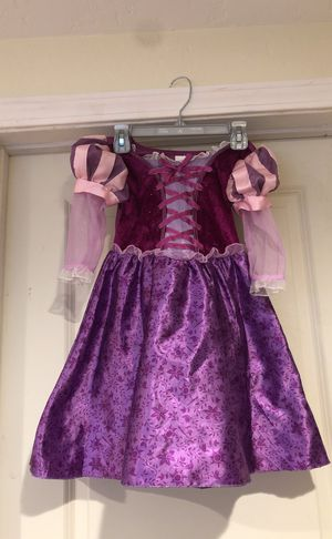 Disney store Rapunzel Dress and shoes for Sale in Houston, TX