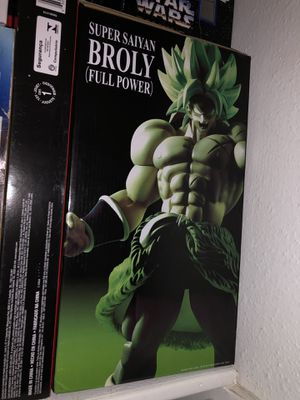 Dragon ball ZSuper saiyan king cluster broly for Sale in Austin, TX