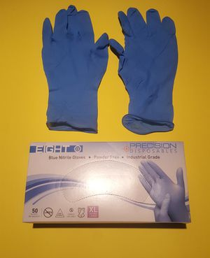 Thick 8 Mil Nitrile Gloves | No Powder | Small Medium Large X-Large & XX-Large for Sale in Long Beach, CA