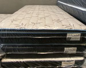SET QUEEN SIZE NEW MATTRESSES PILLOW TOP for Sale in Hollywood, FL