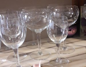 Princess House crystal glasses Heritage collection several styles to choose from for Sale in Fremont, CA
