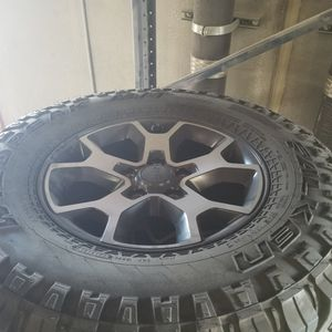 Takeoff Jeep Rubicon Wheels And Tires for Sale in North Las Vegas, NV