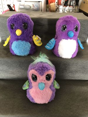 3 electronic Hatchimals for Sale in Albuquerque, NM