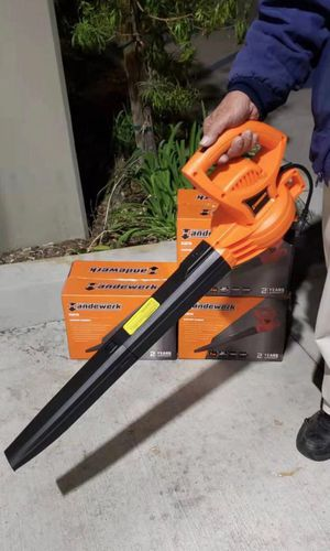 NEW IN BOX $30 each Handewerk Leaf Dust Air Blower 7amp Electric Blower 110v Plugin Variable Speed Corded 210 mph Yard Cleaning Tool for Sale in Whittier, CA