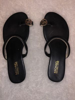Black Michael kors sandals size 8 for Sale in Las Vegas, NV