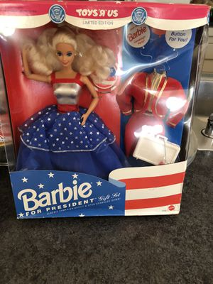 Barbie first woman president for Sale in Voorhees Township, NJ