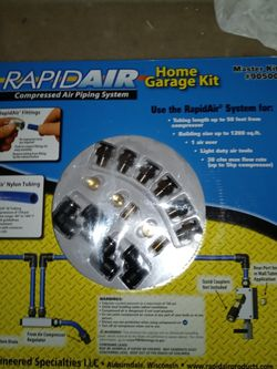 """Rapidair 1/2"""" 100' Master Air Compressor Kit for Sale in Taylorville,  IL"""