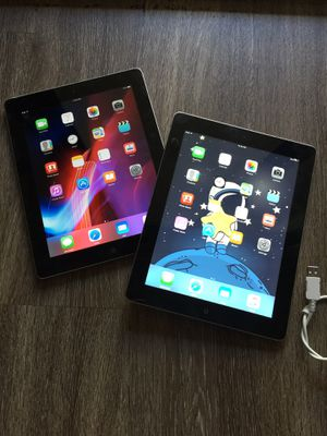 Apple iPad iPads Two (2) 9.7 Black WiFi Excellent Working! for Sale in San Diego, CA