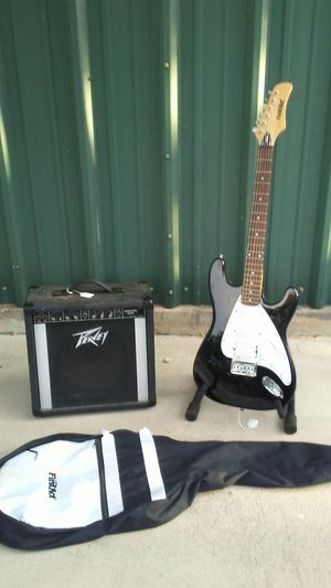 Peavey amp with First Act guitar for Sale in Jonestown, TX