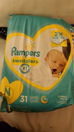 Pampers swaddlers for Sale in Lakeside, CA