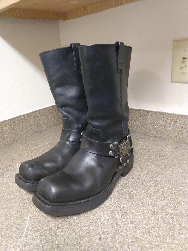 Women's Harley Davidson High Pull On Harness Boots