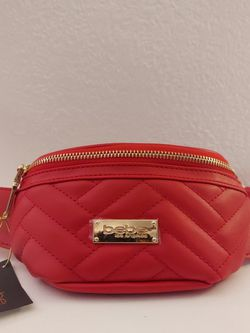Bebe Sophia Fanny Pack Red Waist Belt Bag for Sale in Long Beach,  CA