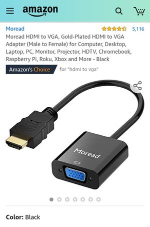 HDMI to VGA Adapter for Sale in Long Beach, CA