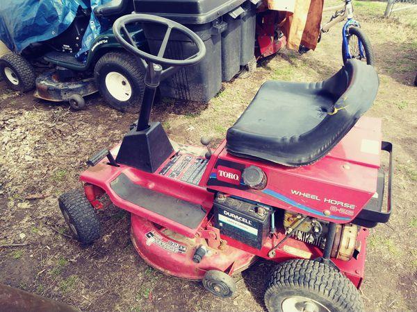 Toro riding mower