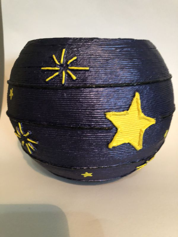 Basket handmade art