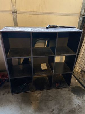9 cube organizer shelf for Sale in Sumner, WA