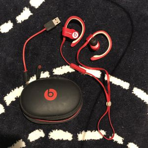 Power Beats Wireless Earphones with case and cord for Sale in Boston, MA