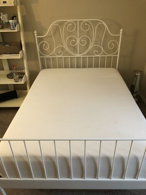Full size bed and frame for Sale in Riverview, FL