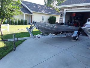 19 ft Aluminum Trailer/Boat for Sale in Laurel, MT