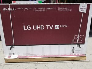 86' LED SMART 4K ULTRA HDTV BY LG WITH HDR. 1 year WARRANTY for Sale in Los Angeles, CA
