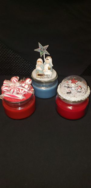 Homemade Christmas Soy Candles for Sale in Wichita, KS
