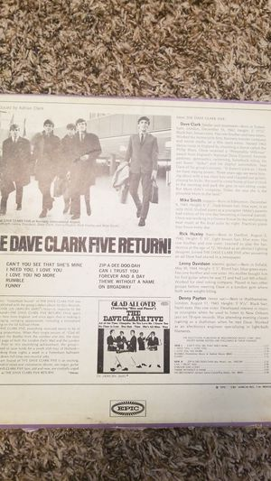 The Dave Clark Five Return! for Sale in Fort Smith, AR