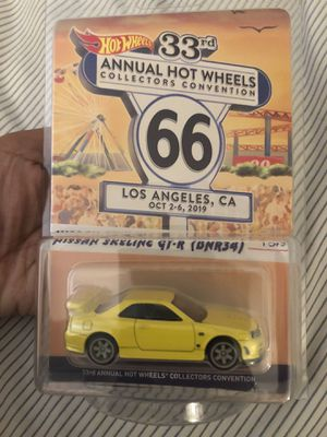 Annual Hot Wheels Collectors Convention Nissan Skyline GT-R $80 for Sale in Costa Mesa, CA