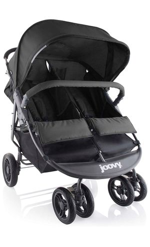 Joovy Scooter X2 Double Stroller, Black for Sale in East Pittsburgh, PA