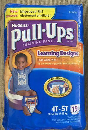 Huggies Pull-Ups Sz 4T-5T Training Pants for Sale in Austin, TX