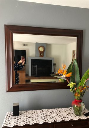 Moving out sales: 2 mirrors of same kind 48x 40 inch. $100 for both. Very nice and big. for Sale in Elk Grove, CA