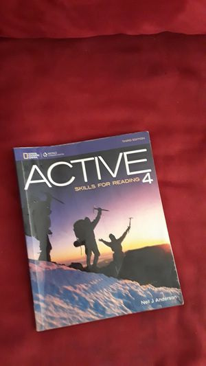 Active skills for reading 4 for Sale in Tampa, FL