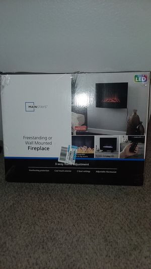 Led heated fireplace for Sale in Denver, CO