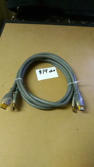 Monster™ HDMI cable 5ft 2 pack for Sale in El Segundo, CA