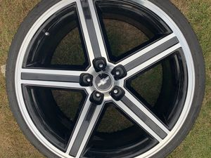 22 inch Iroc Black Machined Rims for Sale in Seattle, WA